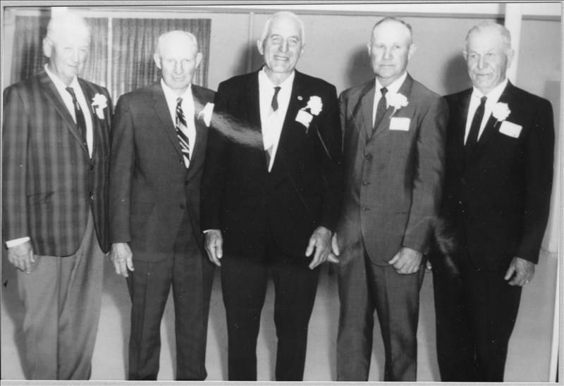 Gus (center) as president of the PCA